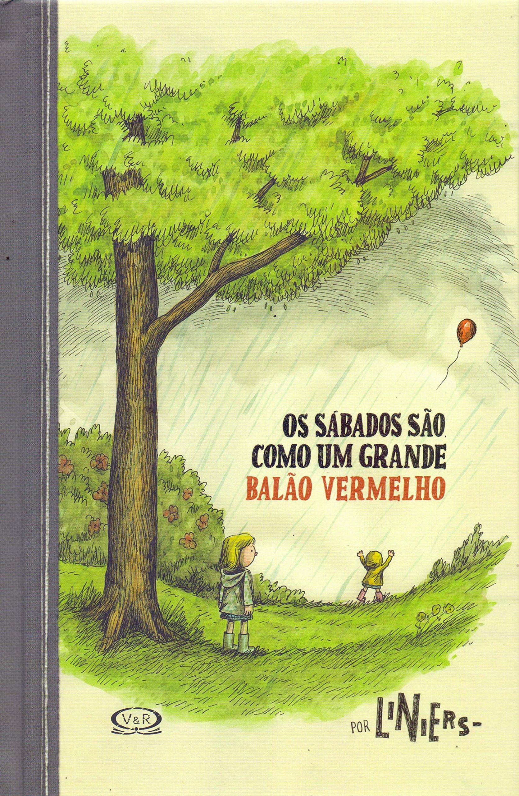 Os sábados são como um grande balão vermelho, livro de Liniers