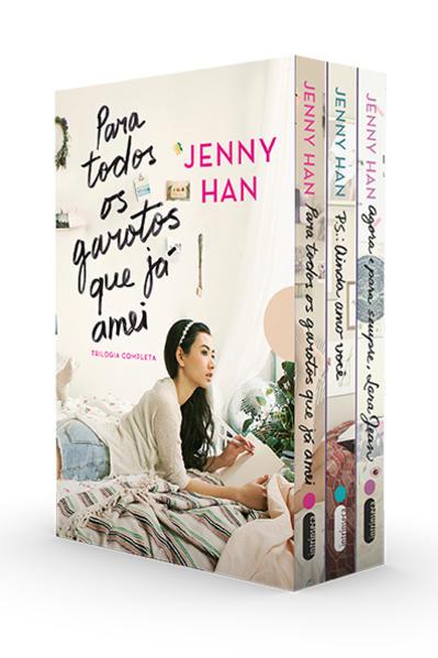 Trilogia Para todos os garotos que já amei. Box com os 3 volumes da trilogia, livro de Jenny Han