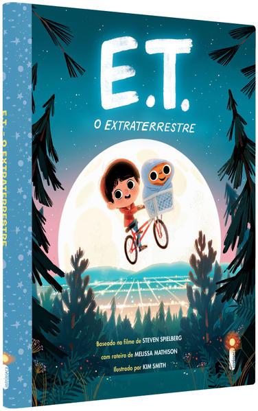 E.T. O extraterrestre. Coleção Pipoquinha, livro de Kim Smith