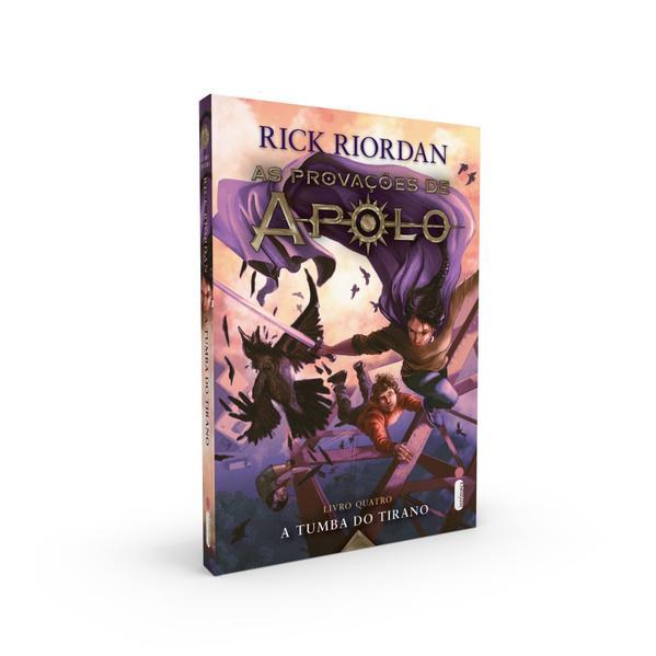 A Tumba Do Tirano. (Série As provações de Apolo), livro de Rick Riordan