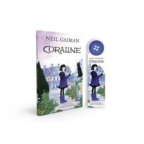 Coraline - Acompanha marcador de páginas especial, livro de Neil Gaiman