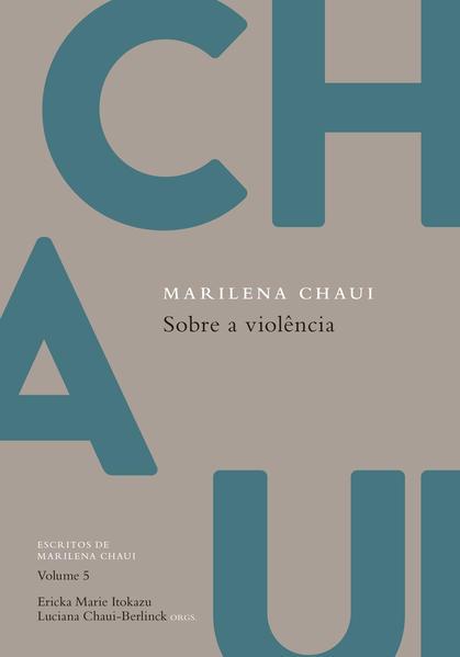 Sobre a Violência, livro de Marilena Chaui