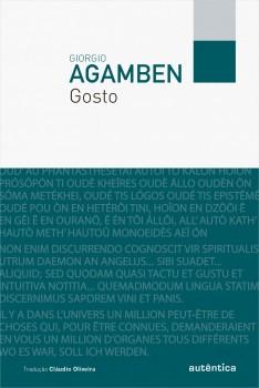 Gosto, livro de Giorgio Agamben