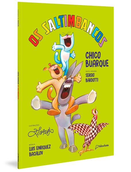 Os Saltimbancos, livro de Chico Buarque, Sergio Bardotti, Luis Enriquez Bacalov