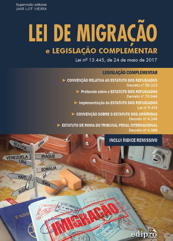 Lei de migração, livro de Jair Lot Vieira