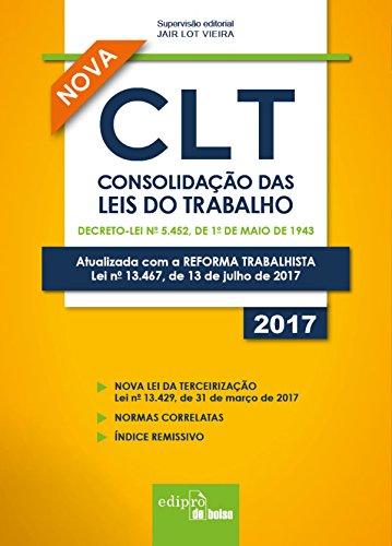 CLT. Consolidação das Leis do Trabalho, livro de Jair Lot Vieira