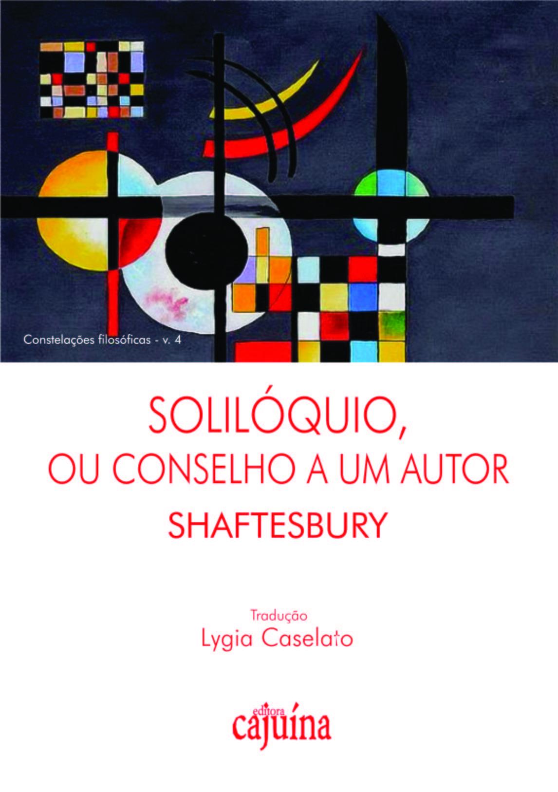 Solilóquio, ou conselho a um autor, livro de Shaftesbury (Anthony Ashley Cooper)