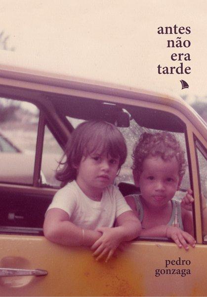 Antes não era tarde, livro de Pedro Gonzaga