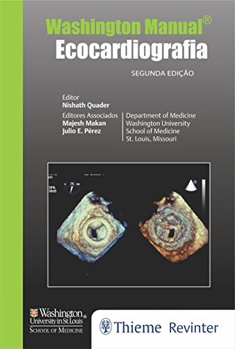 Washington Manual: Ecocardiografia, livro de