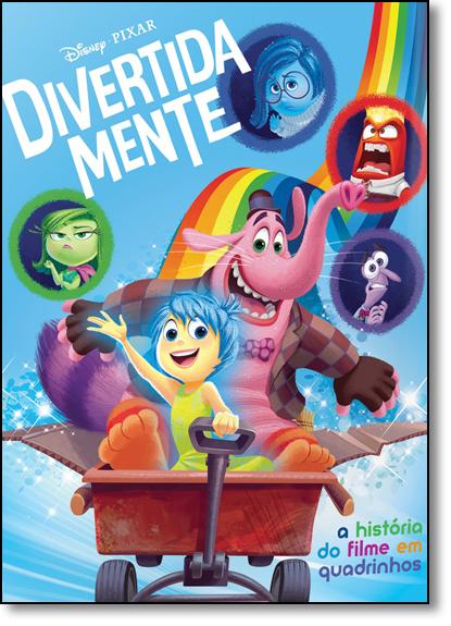 Divertida Mente: A História do Filme em Quadrinhos, livro de Disney Pixar