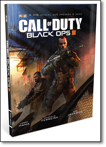 Call of Duty: Black Pps Iii, livro de Larry Hama