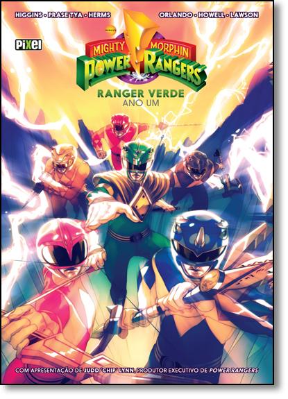 Mighty Morphin Power Rangers - Ano Um, livro de Kyle Higgins