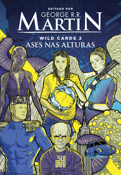Wild Cards: Ases nas alturas, livro de George R. R. Martin