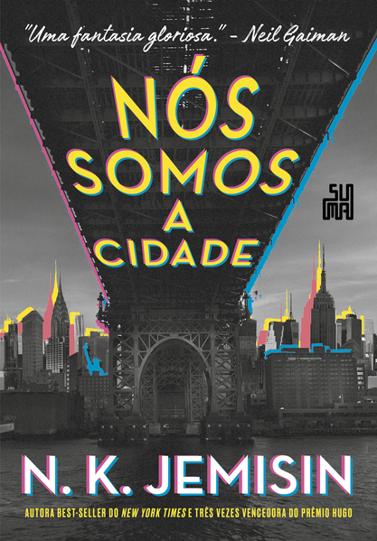 Nós somos a cidade, livro de N. K Jemisin