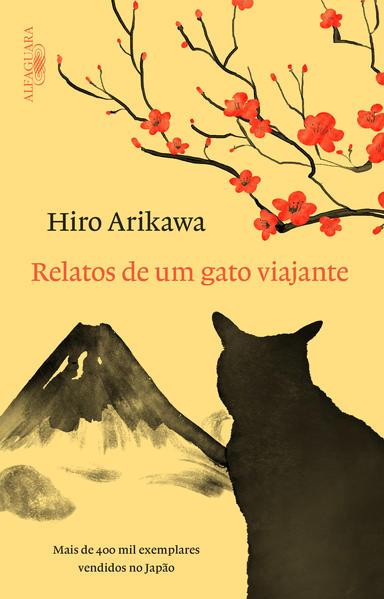Relatos de Um Gato Viajante, livro de Hiro Arikawa