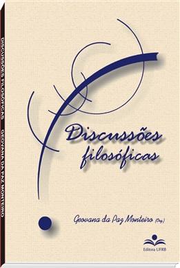 Discussões filosóficas, livro de Geovana da Paz Monteiro (org.)