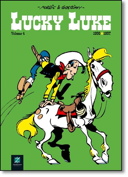 Lucky Luke - Vol.4 - Capa Brochura, livro de Morris