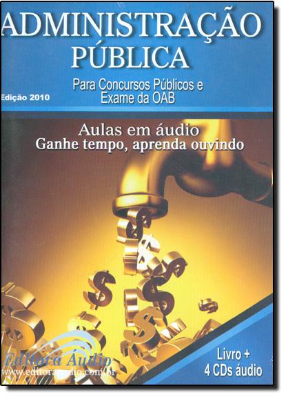 Administração Pública - Audiolivro, livro de Rubens Souza