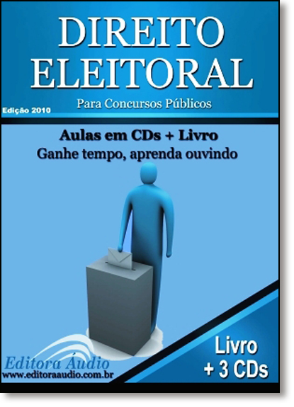 Direito Eleitoral - Audiolivro, livro de Ebook / Livro Digital