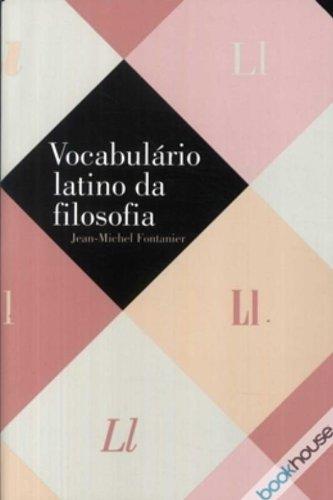 Vocabulário latino da filosofia, livro de Jean-Michel Fontanier