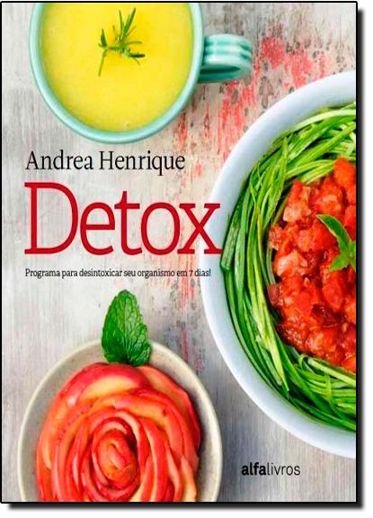 Detox, livro de Andrea Henrique