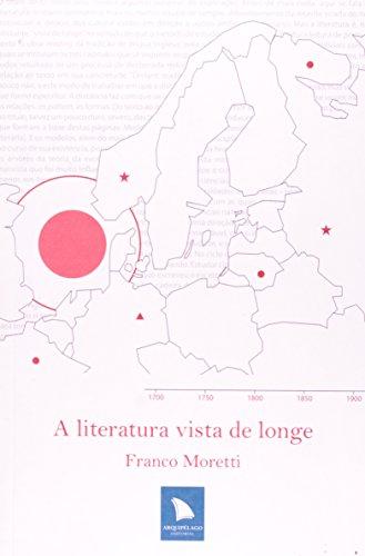 A literatura vista de longe, livro de Franco Moretti