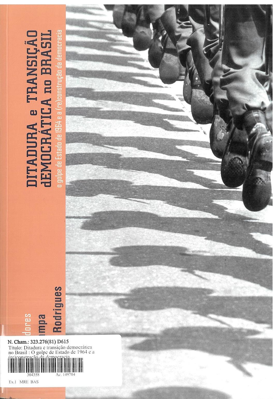 Ditadura e Transição Democrática, livro de Inez Stampa, Vicente Rodrigues