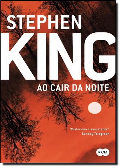Ao Cair da Noite, livro de Stephen King