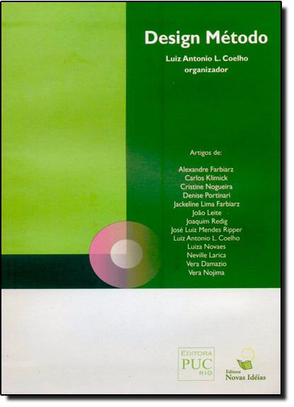 Design Método, livro de Luiz Antonio L. Coelho