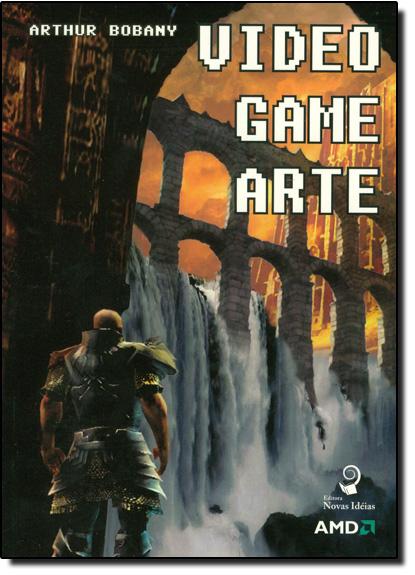 Videogame Arte, livro de Arthur Bobany