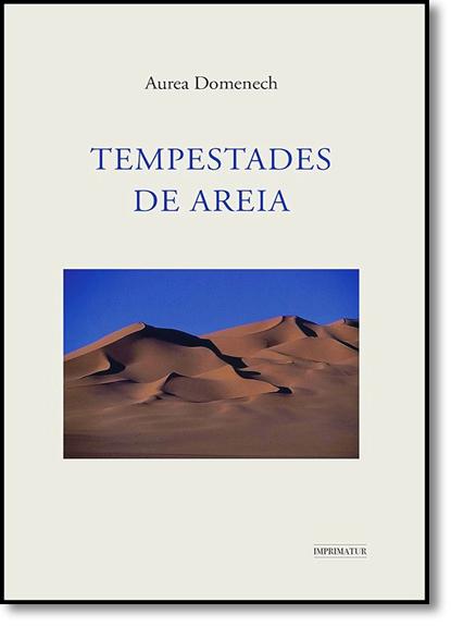Tempestades de Areia, livro de Aurea Domenech