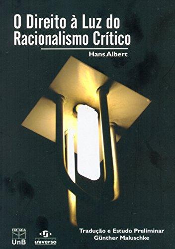 Direito À Luz do Racionalismo Crítico, livro de Hans Albert