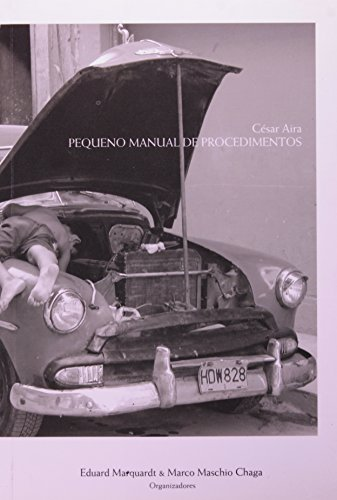 Pequeno Manual de Procedimentos, livro de César Aira
