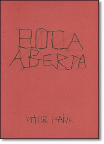 Boca Aberta, livro de Vitor Paiva