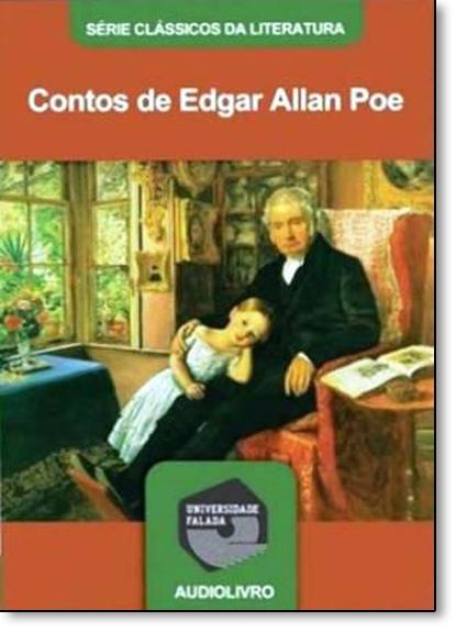 Contos de Edgar Allan Poe - Audiolivro - Serie Classicos da Literatura - Audio Livro - Dvd, livro de Edgar Allan Poe