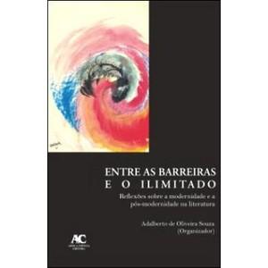 Entre as barreiras e o ilimitado - Reflexões sobre a modernidade e a pós-modernidade na literatura, livro de Adalberto de Oliveira Souza (org.)