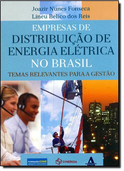 Empresas de Distribuição de Energia Elétrica no Brasil: Temas Relevantes Para a Gestão, livro de Joazir Nunes Fonseca | Linei Belico dos Reis