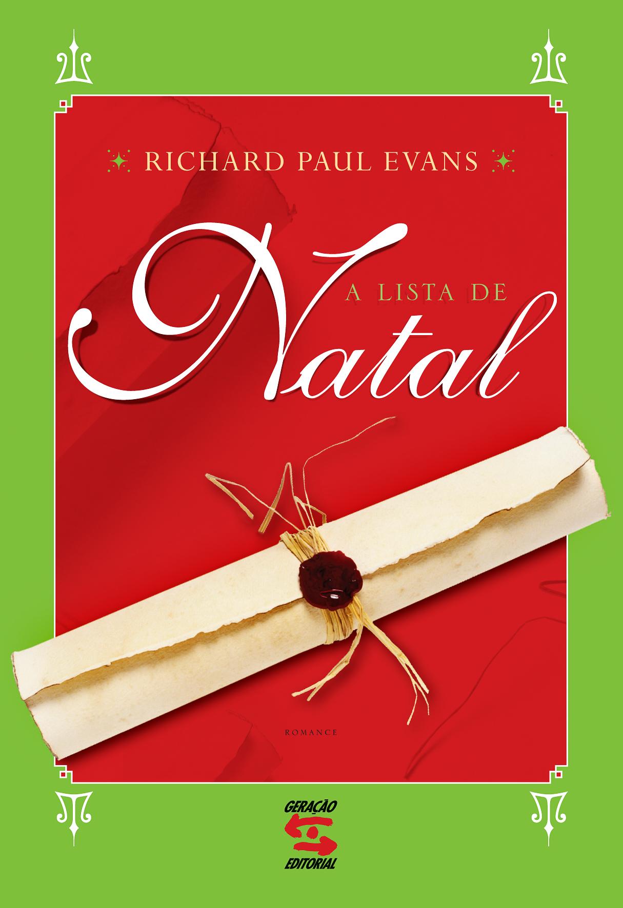 Lista de Natal, A, livro de Richard Paul Evans