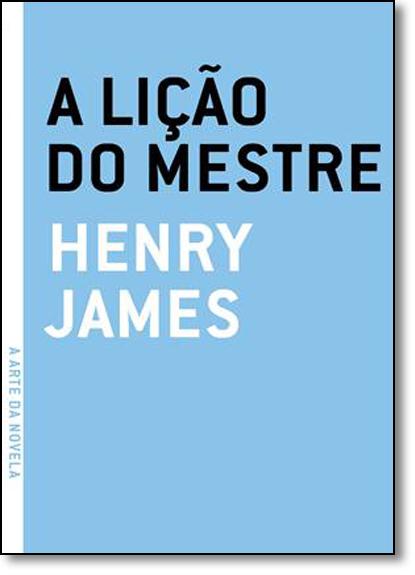 Lição do Mestre, A, livro de Henry James