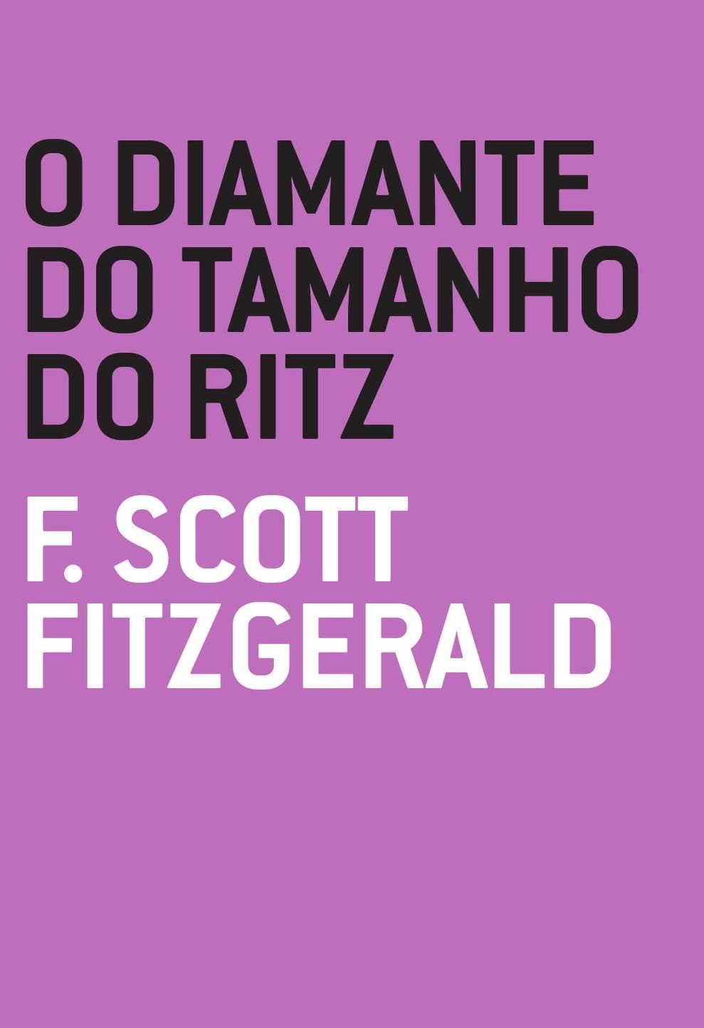 O diamante do tamanho do Ritz, livro de F. Scott Fitzgerald