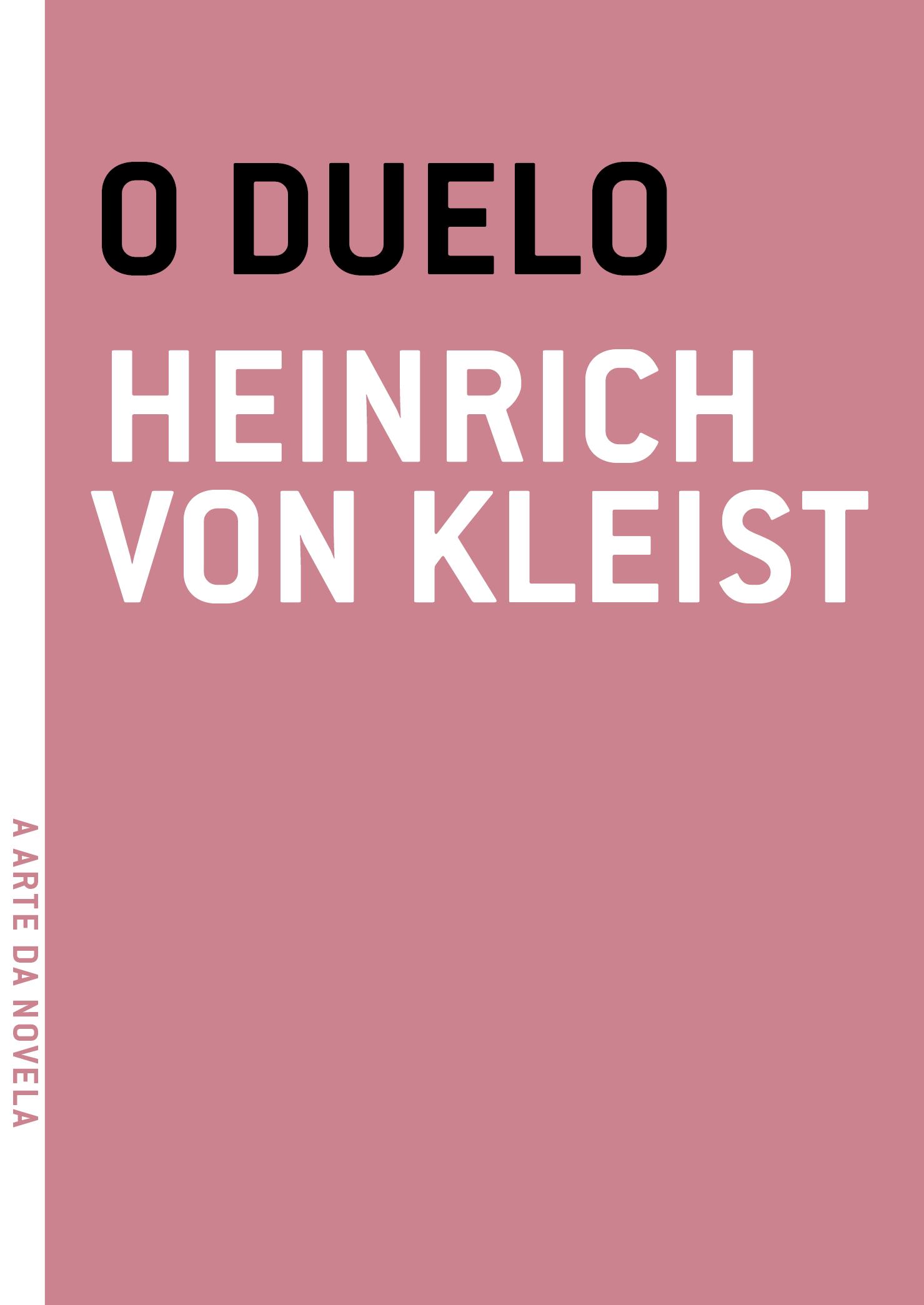 O duelo, livro de Heinrich Von Kleist