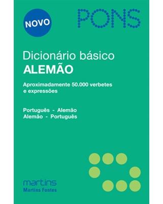 Dicionário Básico Alemão: Português - Alemão / Alemão - Português, livro de Pons