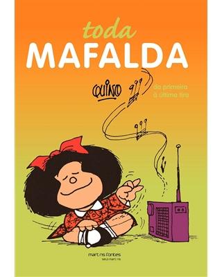 Toda Mafalda, livro de Quino