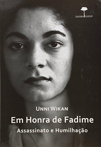 Em Honra de Fadime - assassinato e humilhação, livro de Unni Wikan