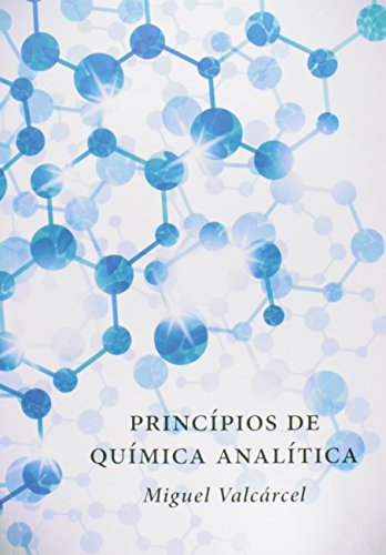 Princípios de Química Analítica, livro de Miguel Valcárcel