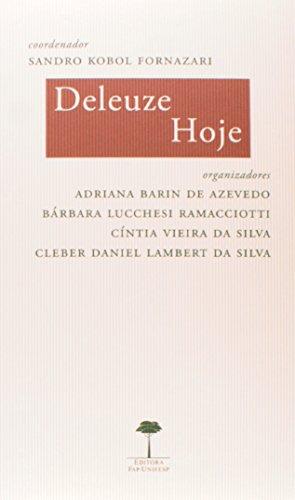 Deleuze Hoje, livro de Sandro Kobol Fornazari