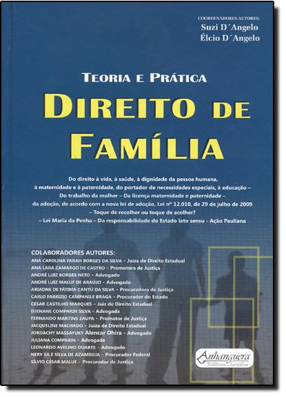 Teoria e Prática Direito de Família, livro de Suzi D Angelo