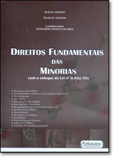 DIREITOS FUNDAMENTAIS DAS MINORIAS, livro de Vera Giangrande