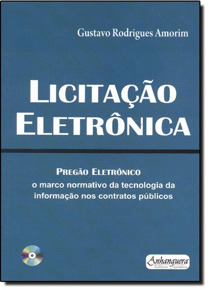 Licitação Eletrônica, livro de Gustavo Rodrigues Amorim