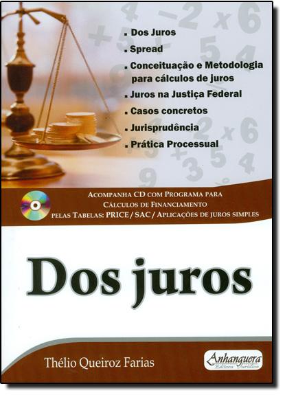 Dos Juros, livro de Thélio Queiroz Farias
